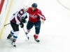 WASHINGTON, DC - December 11, 2010:  Washington Capitals forward Matt Bradley (#10) and Colorado Avalanche forward Cody McLeod (#55) begin to fight during their NHL ice hockey game at Verizon Center.