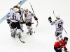 Blackhawks Celebrate Goal
