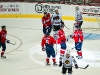 Capitals Celebrate Green's Goal