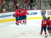 Capitals Celebrate Perreault's Goal