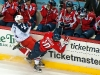 Bradley Checks Lepisto by Capitals Bench
