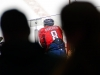 Ovechkin Leans Over Boards At Bench