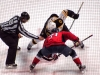 Laich and Bergeron Faceoff