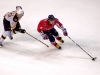 Ovechkin Carries in Front of Paille
