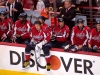 Ovechkin Sits on Boards