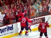 Ovechkin Celebrates on Glass