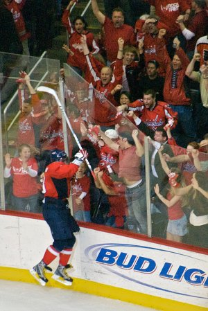 Ovechkin Celebrates