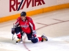 Ovechkin Fist Pump in Spotlight