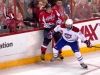 Ovechkin Hits Glass After Subban