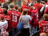 Backstrom Jerseys in Crowd