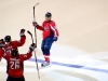 Celebrating Semin\'s Shootout Goal