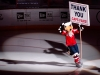 Slapshot Says Thank You Caps Fans