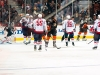 Capitals Celebrate Steckel's Goal