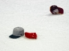 Hats On Honda Center Ice for Washington Capitals Alexander Semin