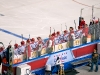 Washington Capitals Bench During Winter Classic
