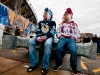 Winter Classic Fans Waiting Outside