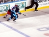 Ovechkin And Talbot Race For The Puck