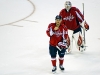 Orlov and Vokoun During Pause