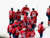 Washington Capitals Celebrate Win #1 of 2010-11