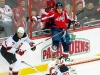 Ovechkin Checked Into Glass By Tallinder