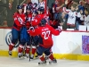 Capitals Celebrating Brouwers Goal