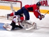 Laich Crashes Over Hedberg