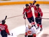 Widemand and Backstrom Celebrate in Spotlight