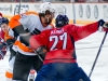 Alzner Defends Against Hartnell