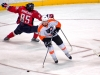 Giroux Leaves Perreault in Dust