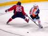Perreault Challenges Giroux For Puck