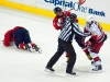 Ovechkin and Ruutu Kept Separated