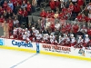 Hurricanes Bench Celebrates