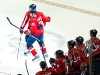 Capitals Celebrate Chimera's Goal