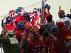 Capitals Celebrate for Semin