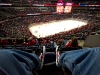 New View and New Shoes at Capitals Game