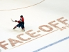 Ovechkin Shoots From NHL Face Off 2011 Point