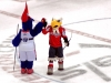 G-Wiz and Slapshot High Five