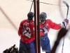 Beagle and Ovechkin Celebrate Beagle's Goal