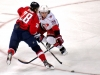 Semin Tries to Shoot Past Faulk
