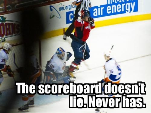 The scoreboard doesn't lie. Never Has.