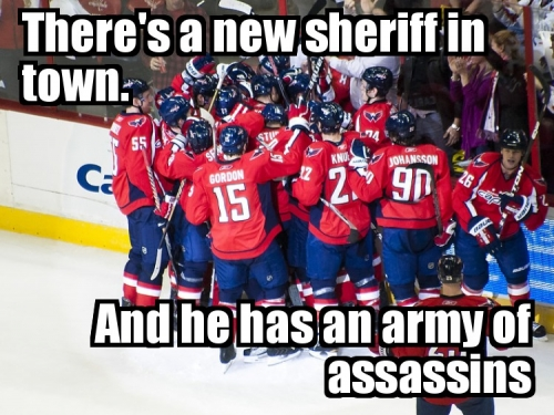 There's a new sheriff in town. And he has an army of assassins.