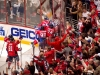 Capitals Celebrating Overtime Game Winner
