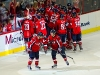 Capitals Celebrate Overtime Win Over Jets