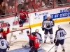 Ovechkin Celebrates Behind Net