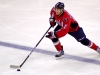 Alzner Skates Over Blue Line With Puck