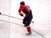 Ovechkin About to Score With Snap Shot