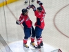 Ovechkin and Knuble About to Hug