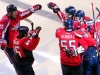 Six Celebrating Ovechkin Goal