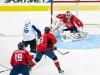 Varlamov Grabs Bouncing Puck