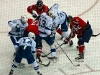 Capitals and Lightning Fight For Puck